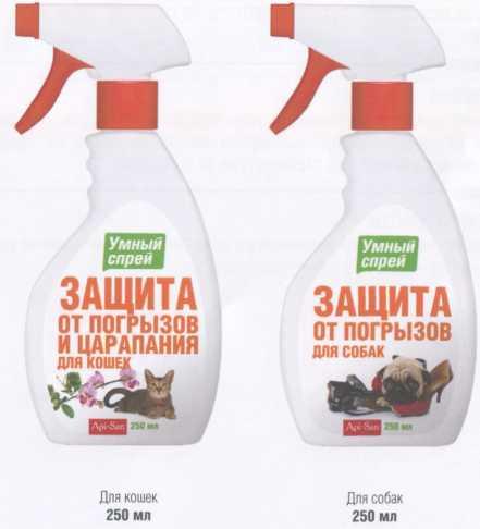 Умный спрей -защита от погрызов и царапания для кошек и собак
