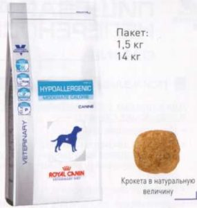 Hypoallergenic Moderate Calorie Canine