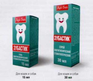 Зубастик - гель и спрей для ухода за зубами
