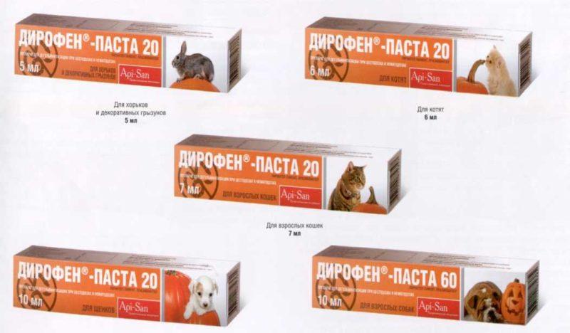 Дирофен-паста 20 и 60